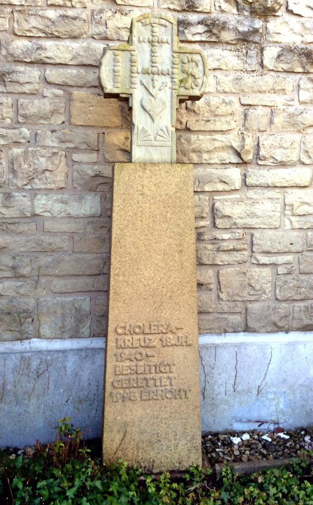 Cholera Kreuz